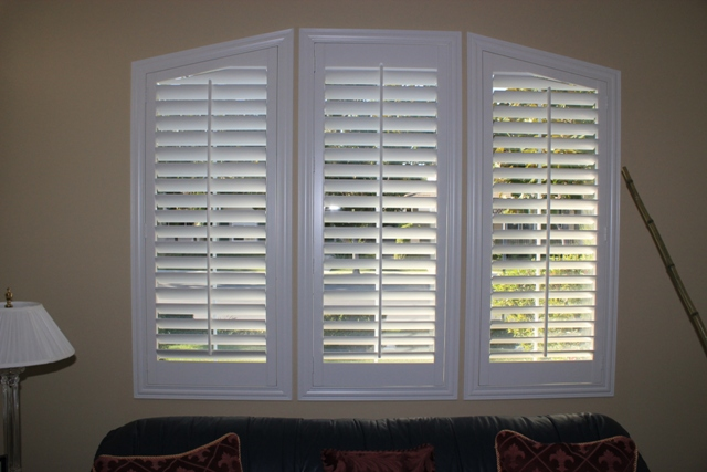 Plantation Shutters. cost of plantation shutters 2017   Grasscloth Wallpaper